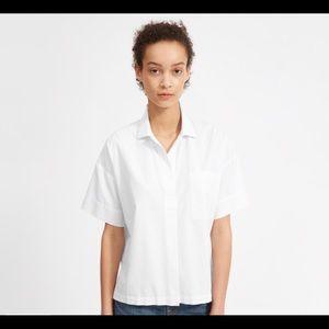Everlane The Cotton Short-Sleeve Popover Shirt